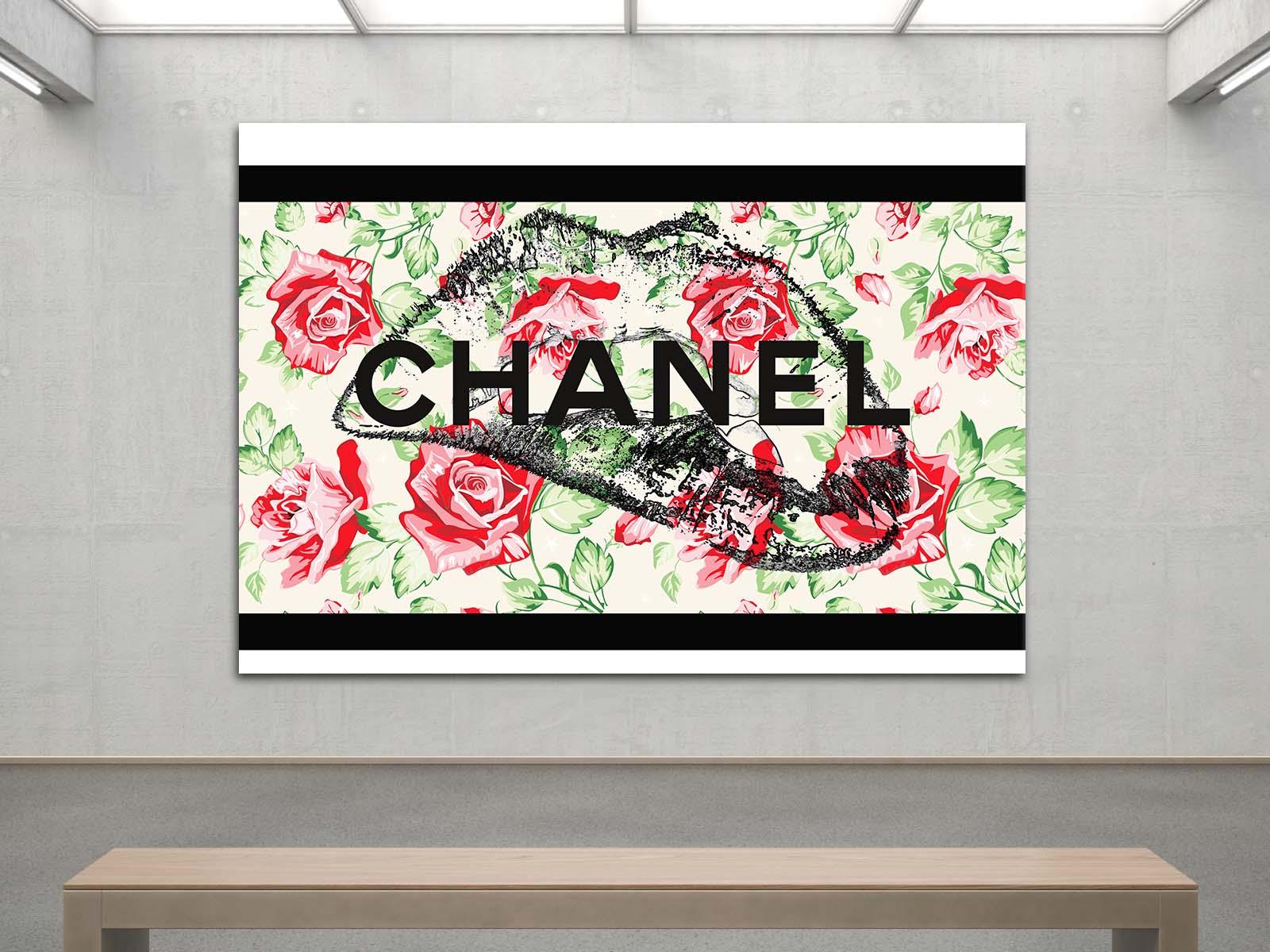 Chanel tableau lèvres vintage