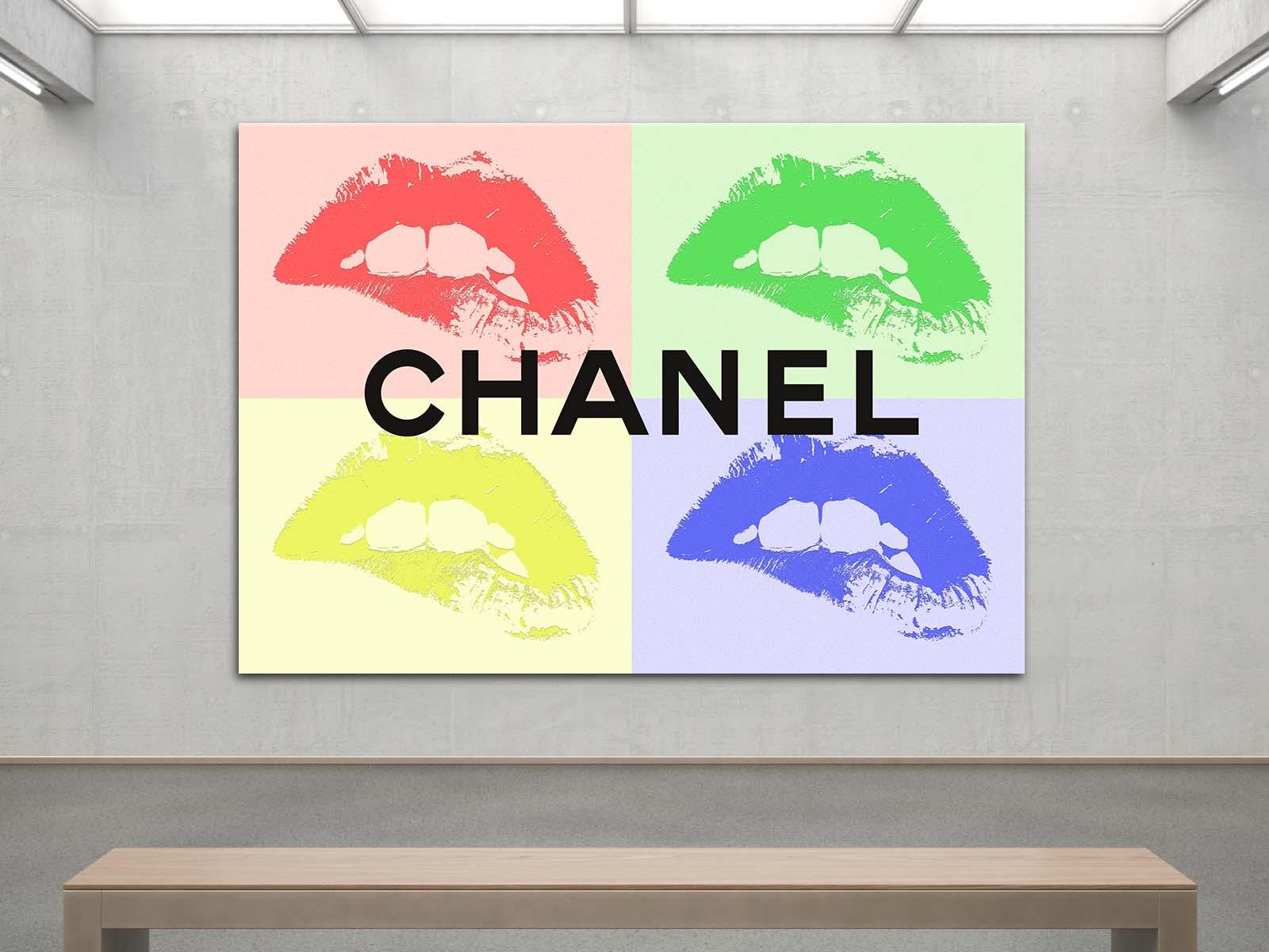 Chanel tableau lévres pop art